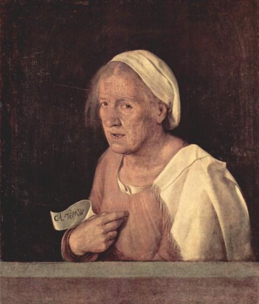 Giorgione's 'La vecchia'. © Gallerie dell'Accademia, Venetië
